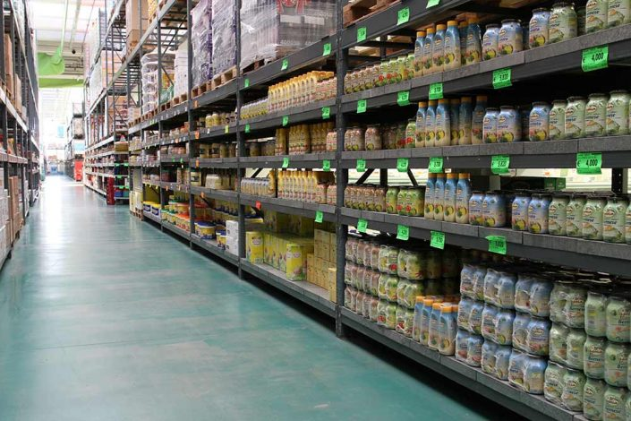 vendita ingrosso alimentari